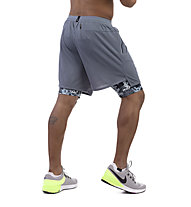 Nike Wild Run 2in1 - pantaloni corti running - uomo, Grey