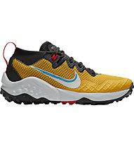 Nike Wildhorse 7 - scarpe trail running - uomo, Yellow/White/Black