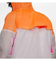 Nike Windrunner Running - Runningjacke - Herren, Grey/Orange