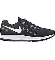 Nike Air Zoom Pegasus 33 - scarpa running donna, Black/White