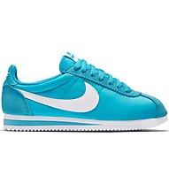 Nike Classic Cortez Nylon - Sneaker - Damen, Light Blue