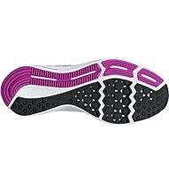 Nike Downshifter 7 W - Neutral-Laufschuhe - Damen, Grey/Fuchsia