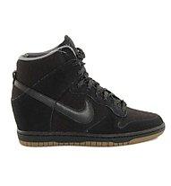 Nike Women's Dunk Sky HI Essential - scarpe tempo libero donna, Black