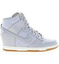Nike Dunk Sky HI Essential Sneaker Damen, Light Grey
