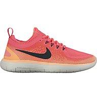 Nike Free Run Distance 2 - Neutrallaufschuh - Damen, Pink