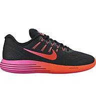 Nike LunarGlide 8 - scarpa running - donna, Black/Multicolor
