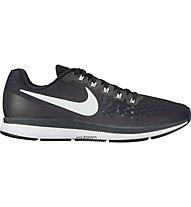 Nike Air Zoom Pegasus 34 W - Neutral-Laufschuhe - Damen, Black/White