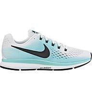Nike Air Zoom Pegasus 34 - Neutral-Laufschuh - Damen, White/Black