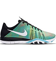 Nike Wmns Nike Free Tr 6 Prt Scarpe Fitness Donna, Green/Black