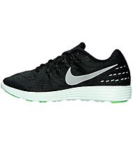 Nike LunarTempo 2 LB - scarpe running donna, Black/Metallic Pewter/Grey