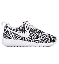Nike Roshe One Print Women's scarpa da ginnastica donna, White/Black