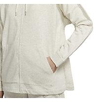 Nike Women's Full-Zip Hoodie - Kapuzenjacke - Damen, Beige