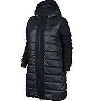Nike Women Sportswear Advance 15 Parka - Damen-Kapuzenjacke, Black