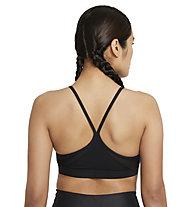 Nike Women's V-Neck Light - Sport BH - Damen , Black