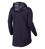Nike Women Sportswear Advance 15 Cape Giacca con cappuccio donna, Violet