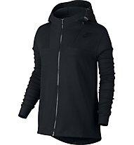 Nike Women Sportswear Advance 15 Cape Giacca con cappuccio donna, Black