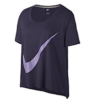 Nike Women Sportswear Top T-Shirt fitness donna, Violet