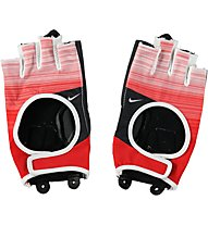 Nike Womens Fit Cross Training Gloves, Red/Anthracite