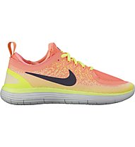 Nike Free Run Distance 2 - Neutrallaufschuh - Damen, Orange/Yellow