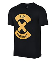 Nike X Glow Fußball T-Shirt Herren, Black/Yellow
