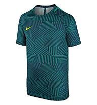 Nike Dry Squad Fußballtrikot Kinder, Teal