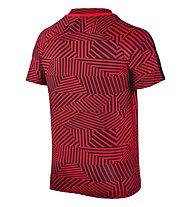 Nike Dry Squad Fußballtrikot Kinder, Red