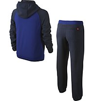 Nike Ya Ft Cuff Track Suit-Air YTH Tuta Bambino, Deep Royal