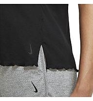 Nike Yoga Core W's SS - T-shirt - donna, Black
