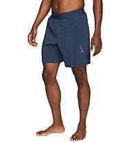 Nike Yoga Dri-FIT - Trainingshose kurz - Herren, Blue