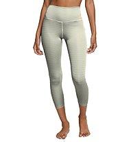Nike Yoga Gingham Cropped - Trainingshose - Damen, White