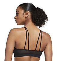 Nike Yoga Indy W's Light - Sport BH - Damen , Black