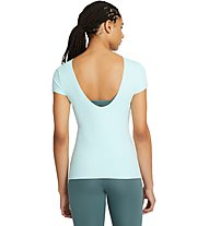Nike Yoga Luxe - t-shirt fitness - donna, Green