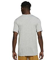 Nike Yoga Men's Graphic - T-Shirt - Herren, Grey