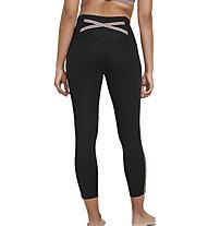 Nike Yoga Novelty W's 7/8 - pantaloni lunghi fitness - donna, Black