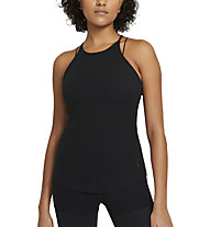 Nike Yoga Pointelle W's - Trainingstop - Damen, Black