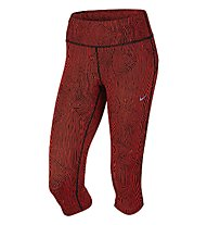 Nike Zen Epic Run Capri Laufhose Damen, Crimson
