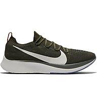 Nike Zoom Fly Flyknit - Laufschuhe Wettkampf - Herren, Green