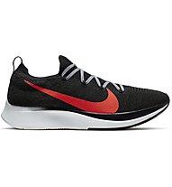 Nike Zoom Fly Flyknit - Laufschuhe Wettkampf - Herren, Black/Red