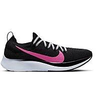 Nike Zoom Fly Flyknit - scarpe da gara - donna, Black/Pink