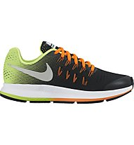 Nike Zoom Pegasus 33 Y - Kinderlaufschuhe, Black/Orange