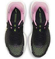 Nike ZoomX Invincible Run Flyknit - Neutrallaufschuh - Damen, Black/Pink