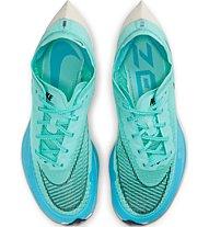 Nike ZoomX Vaporfly Next% 2 - scarpa running da gara - donna, Green
