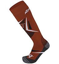 Nordica All Round (2 Pack) - calzini da sci, Red
