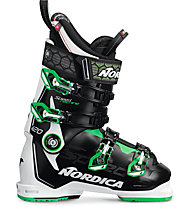 Nordica Speedmachine 120 - scarpone sci alpino, Black/White/Green