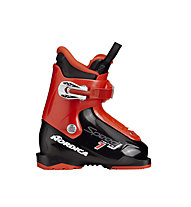 Nordica Speedmachine J1 - Skischuh - Kinder, Black/Red