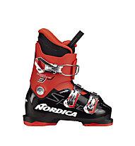 Nordica Speedmachine J3 - Skischuhe - Kinder, Black/Red