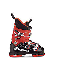 Nordica Speedmachine J3 Plus GW - scarpone da sci alpino - bambino, Black/White/Red