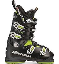 Nordica Sportmachine 100 - scarpone da sci - uomo, Black/Lime