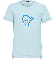 Norrona /29 Cotton Logo - Wander T-Shirt - Kinder, Blue