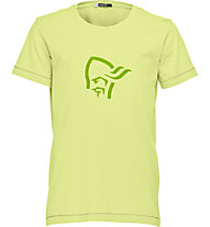 Norrona /29 Cotton Logo - Wander T-Shirt - Kinder, Yellow
